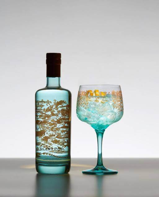 - Silent Pool Gin is a classic gin at heart, full bodied and fresh with depth, clarity and flavour. A rich and clean juniper-driven spirit, Silent Pool Gin is produced using 24 botanicals and the cool, clear spring-water from the Silent Pool itself.