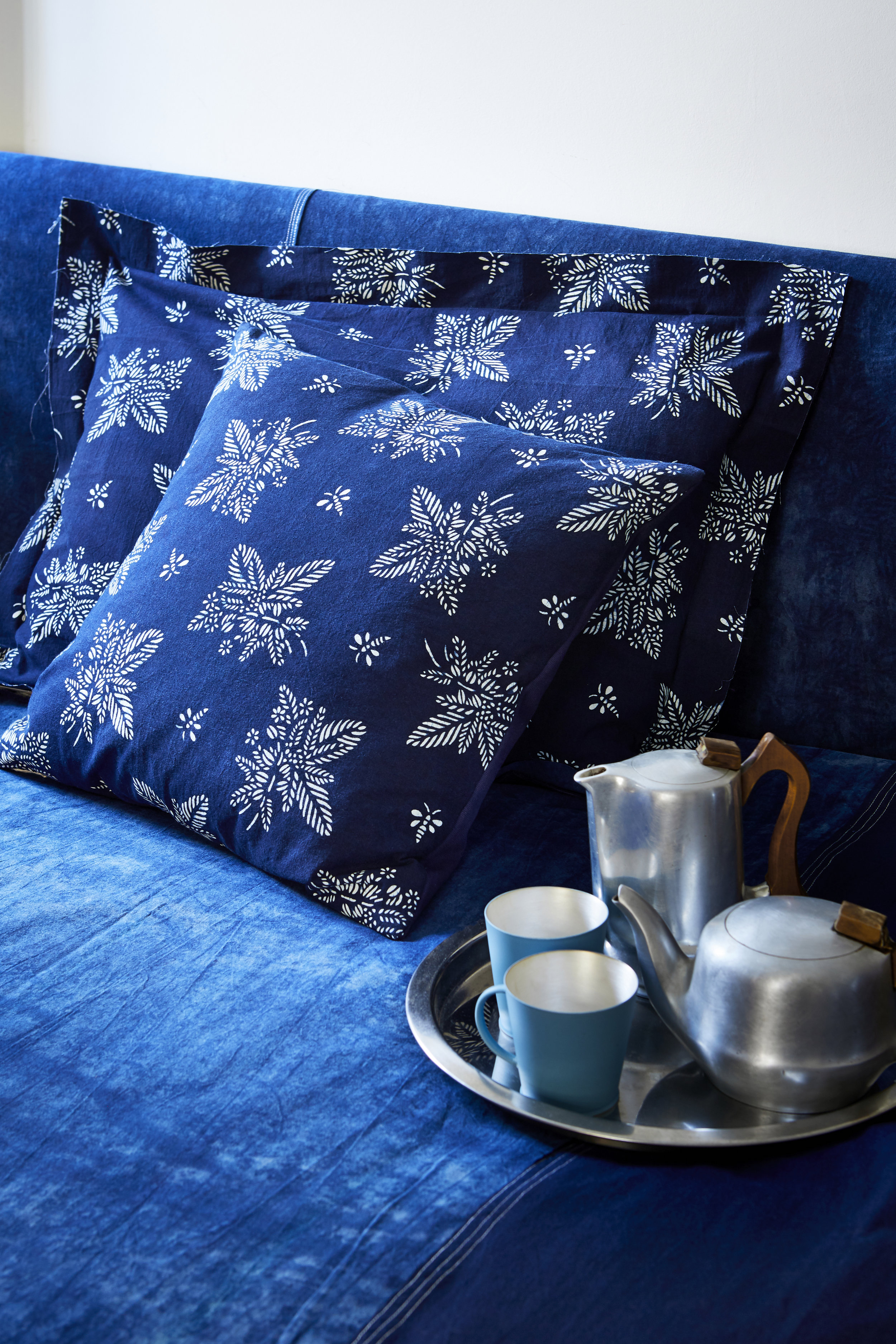 BLUEHANDED CUSHIONS