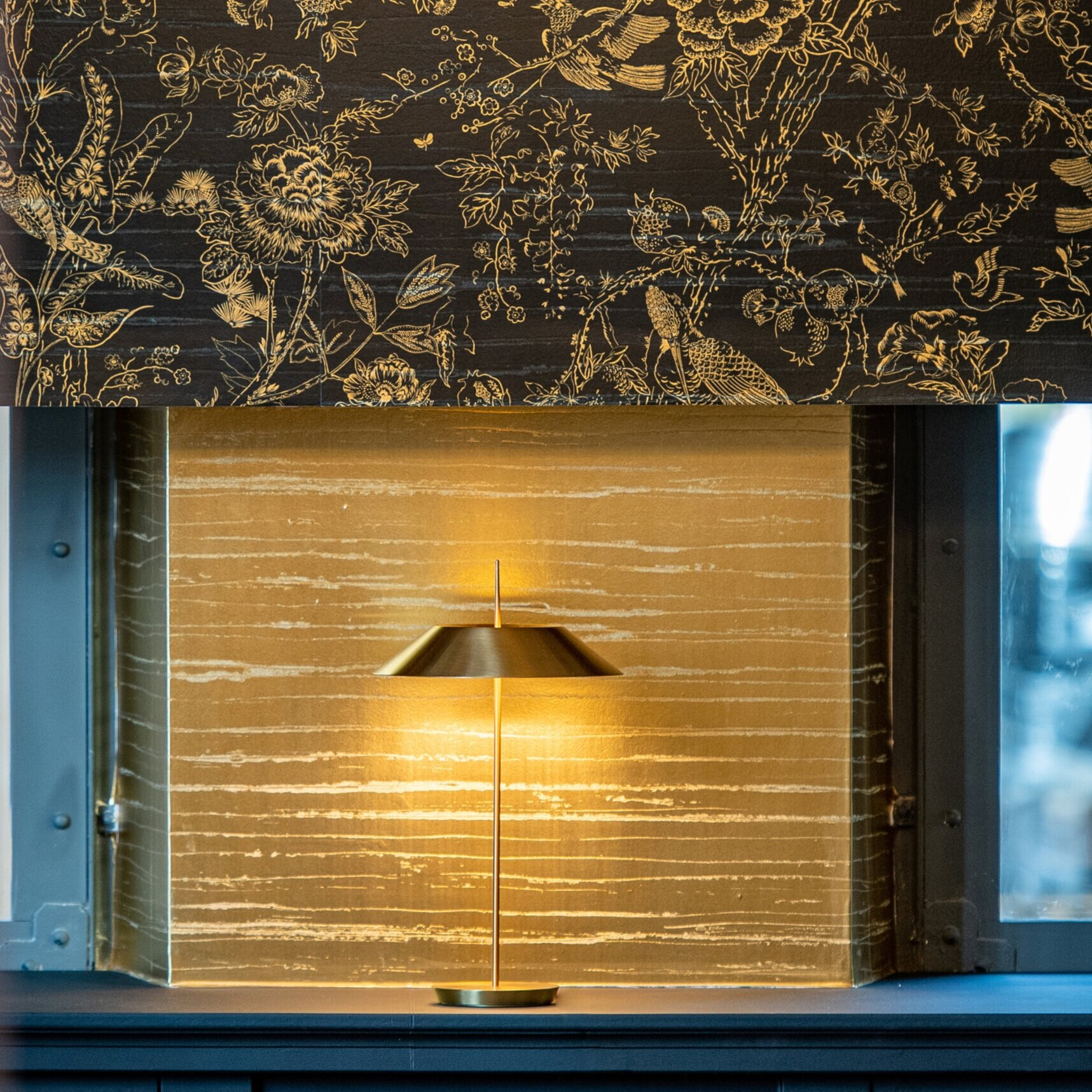 Dedar wallpapers with Diego Fortunato for Vibia