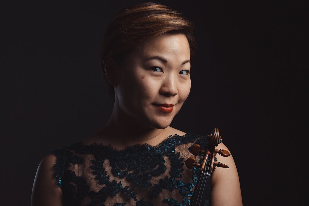 "Sandy Choi   Praised by the Washington Post for her ""assured, sinuous solos,"" violinist Sandy Choi has performed with a wide range of professional ensembles in some of the world's greatest concert halls. In the Washington area alone, she can frequently be seen performing with ensembles including the Wolf Trap Orchestra, Alexandria Symphony Orchestra, Washington Concert Opera Orchestra, Urban Arias, Inscape Chamber Orchestra, and Balance Campaign, and has previously performed with Boston Modern Orchestra Project, Emmanuel Music, the Southwest Florida Symphony, and the Santa Barbara Symphony. Comfortable in many genres, she has shared the stage with artists including virtuoso violinist Rachel Barton Pine, indie rock artist Laura Tsaggaris, beloved singer Andrea Bocelli, and jazz legend Diana Krall. Over the years, she has had the privilege to perform in Carnegie Hall, the Kennedy Center, Orchestra Hall (Chicago), Symphony Hall (Boston), Birmingham Symphony Hall (UK), and the Teatro Communale di Firenze (Italy)."