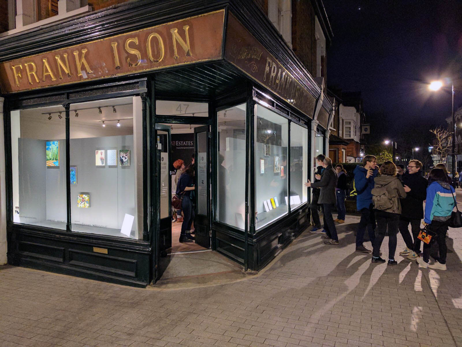 March & April 2017. x12 painters at the Walthamstow Village Window Gallery. Image by Benjamin Deakin.