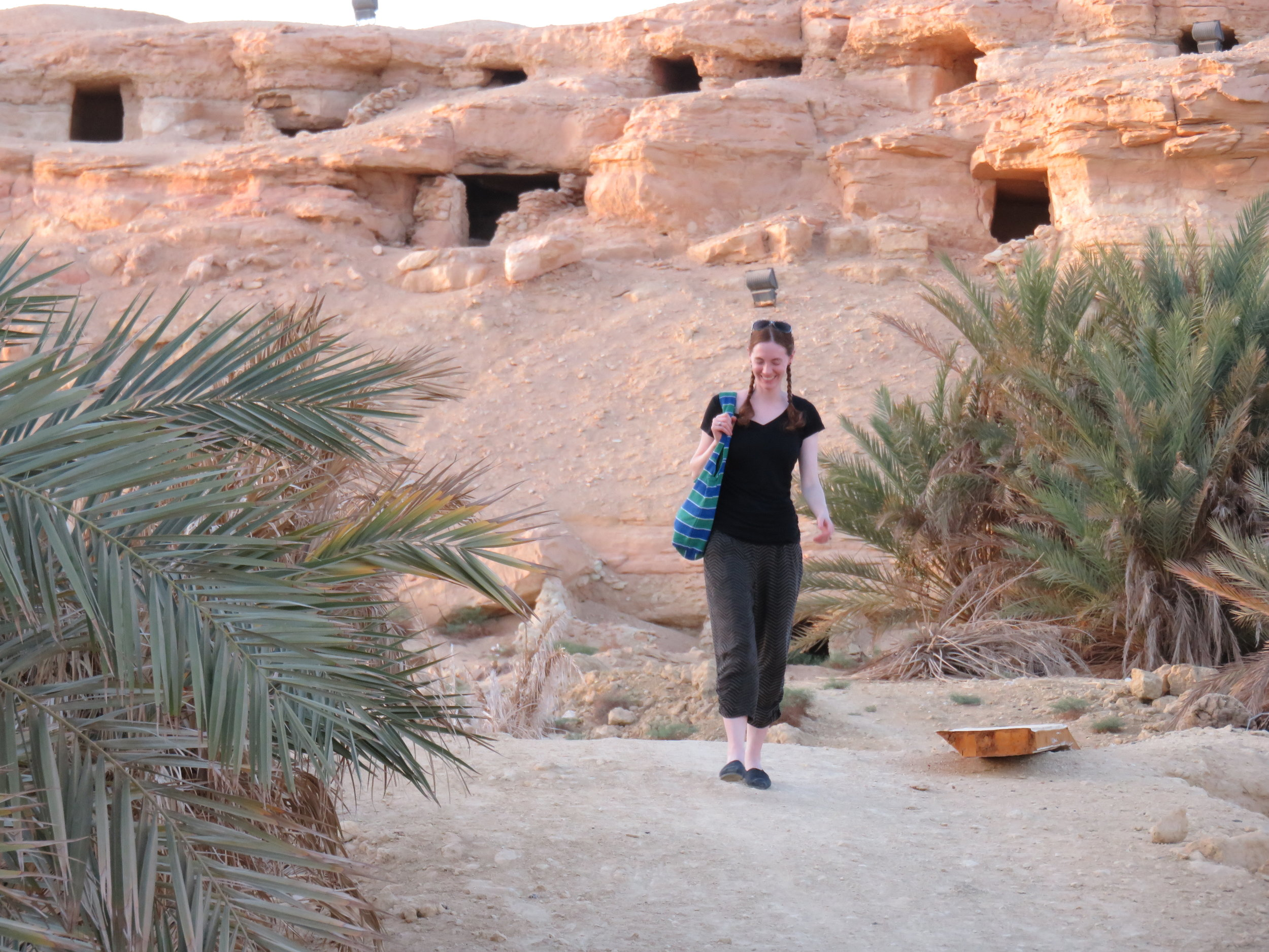 Laura Bannister in Egypt