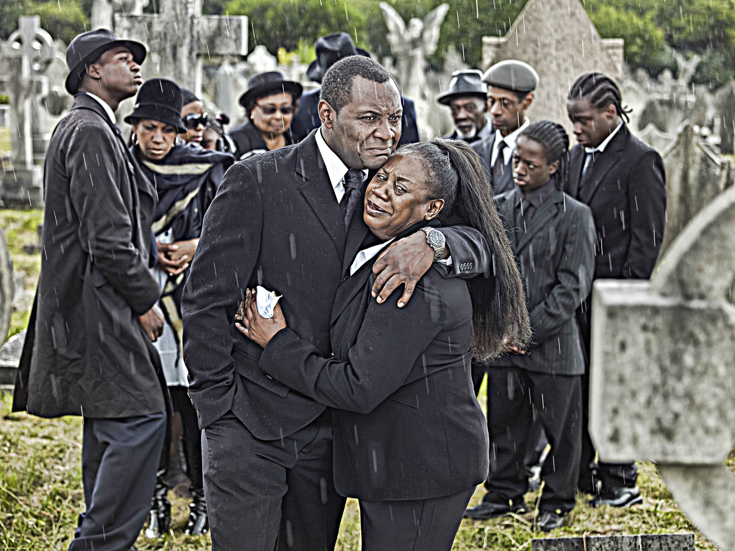 The Funeral- by John Ferguson