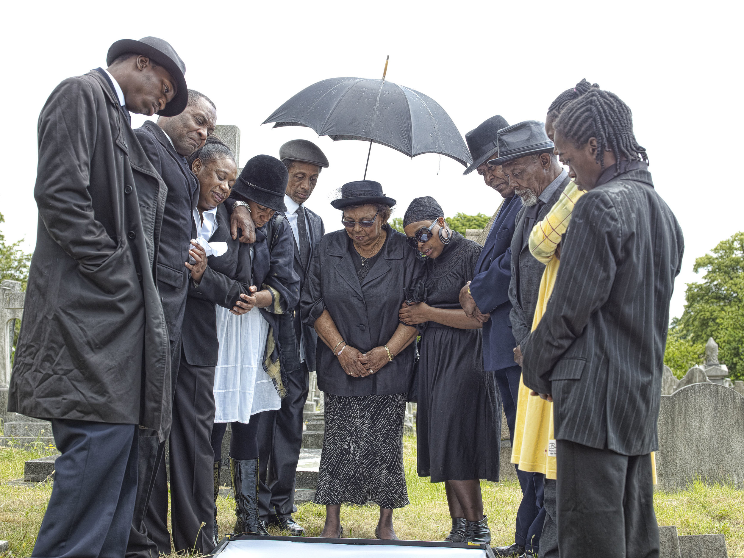 Funeral Shoot-By John Ferguson