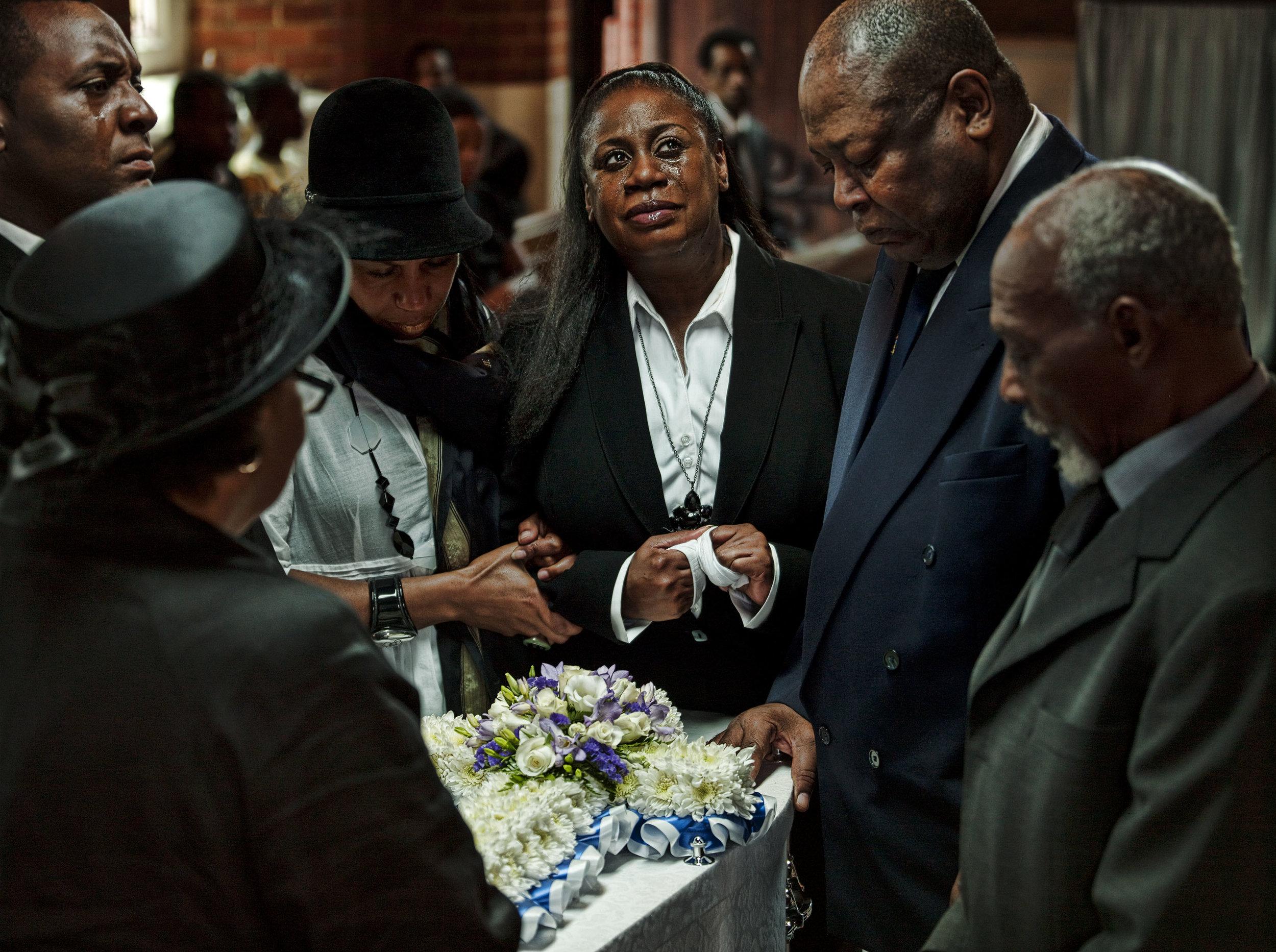 Funeral Shot by John Ferguson