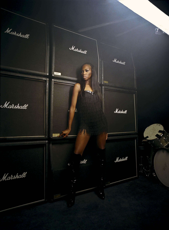 British R&B singer Jamelia - for the Black Britannia photo exhibition