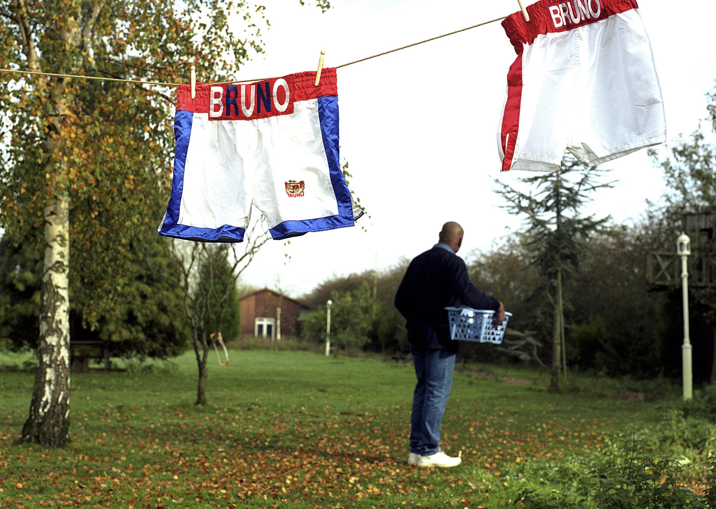 Ex- British Heavyweight Boxing Champion Frank Bruno