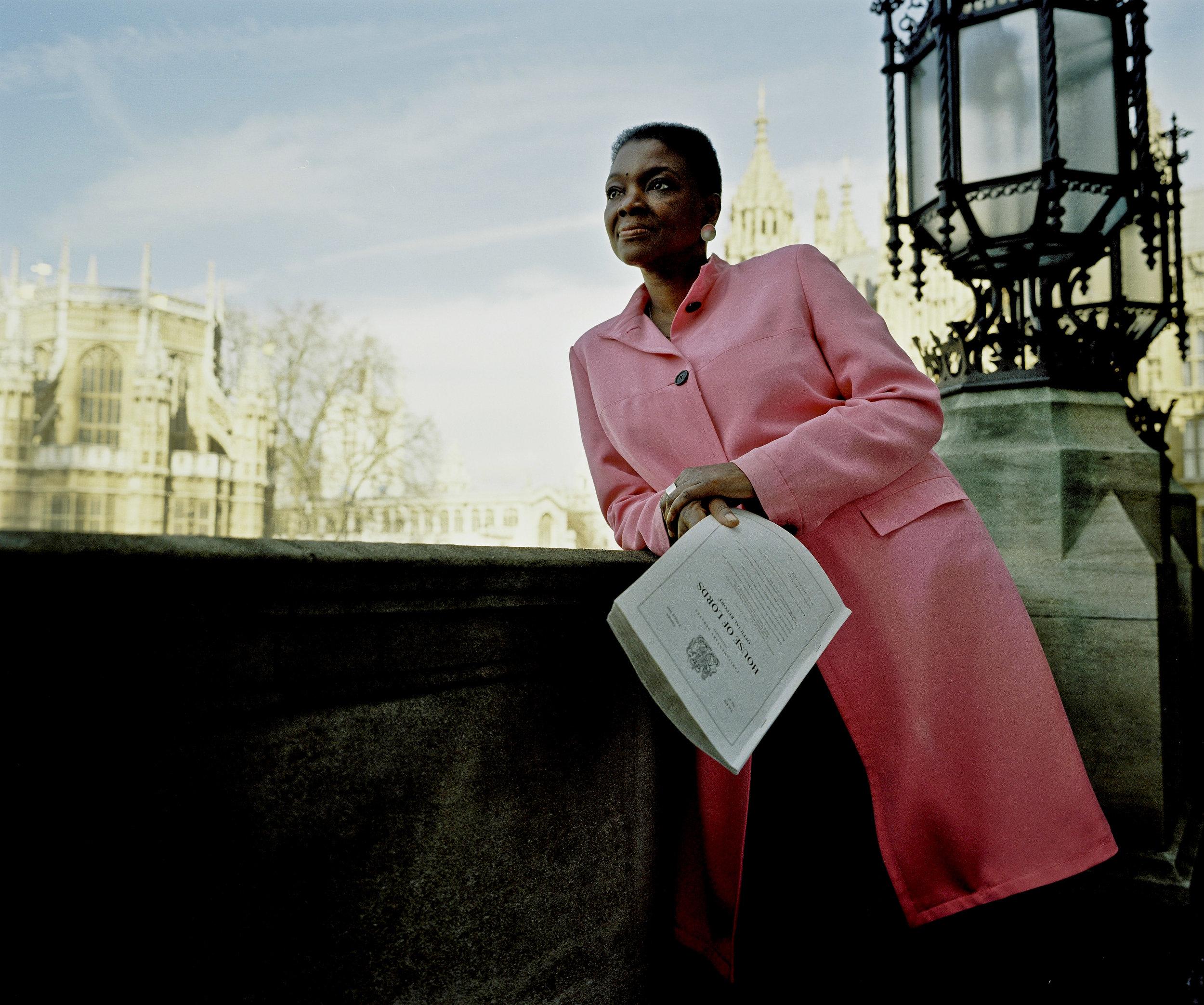 Baroness Amos, for the Black Britannia Photo Exhibition