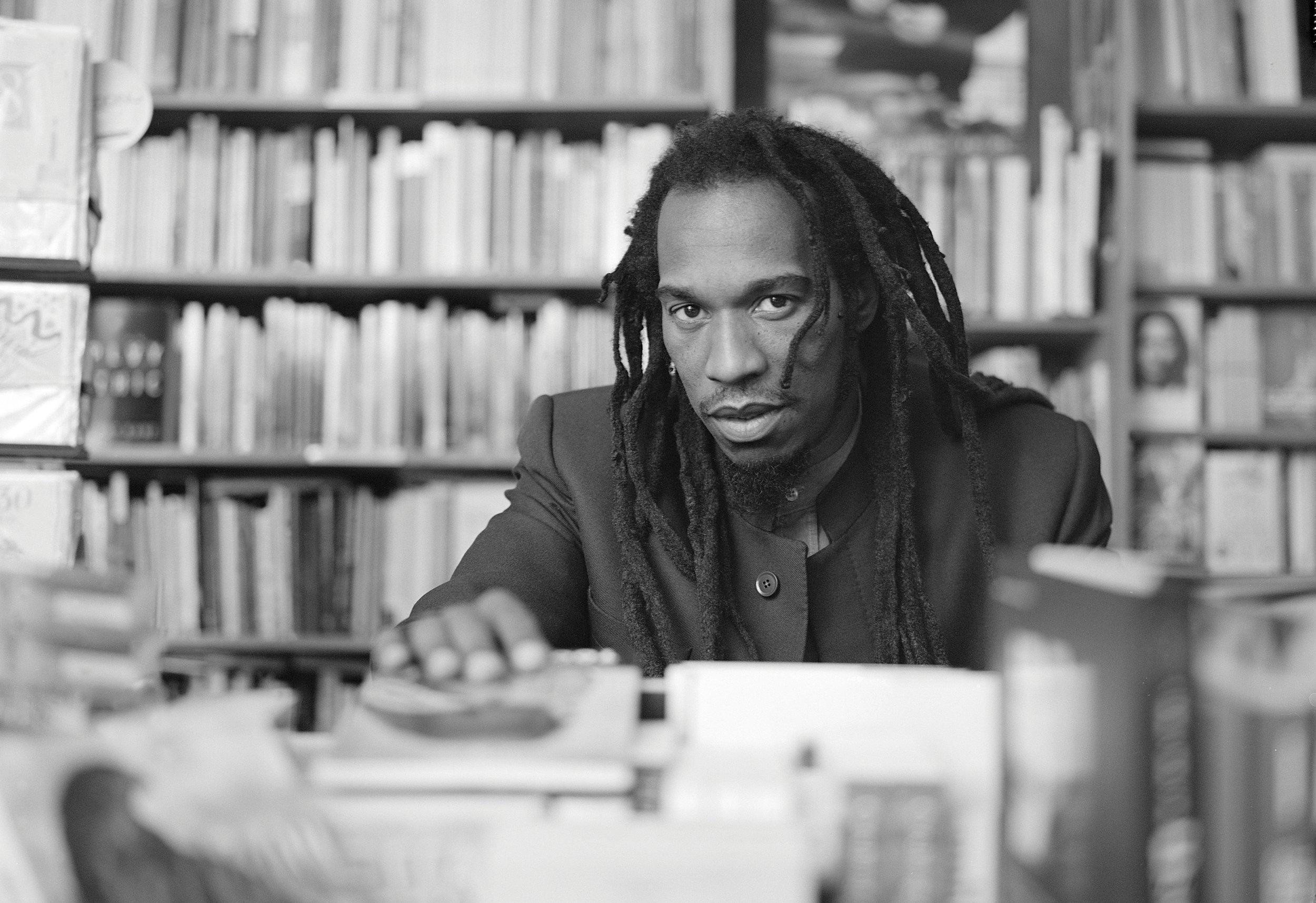 Benjamin Zephaniah - The Black Britannia Photo exhibition