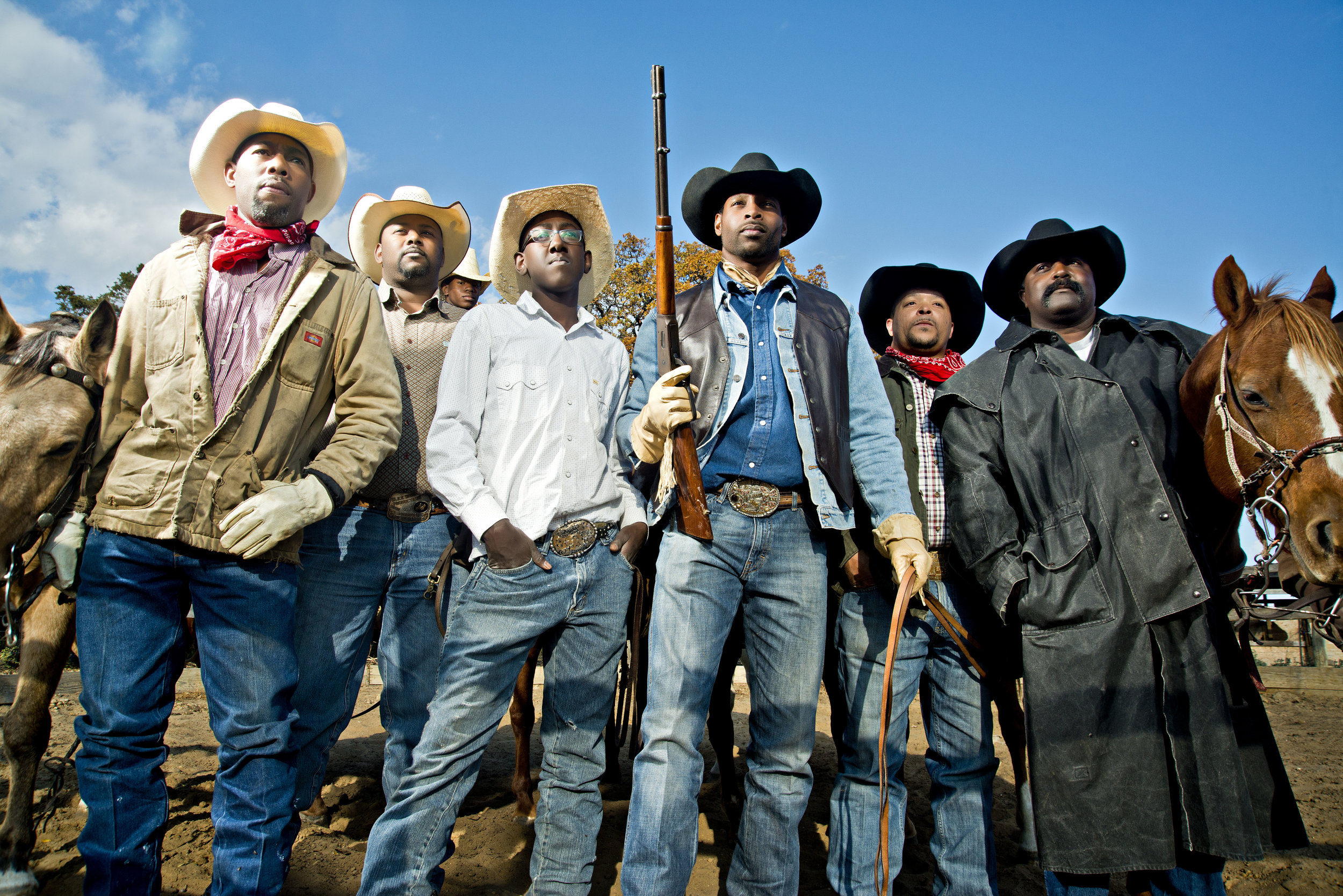 The Boot Hill Crew from South Dallas, Texas.