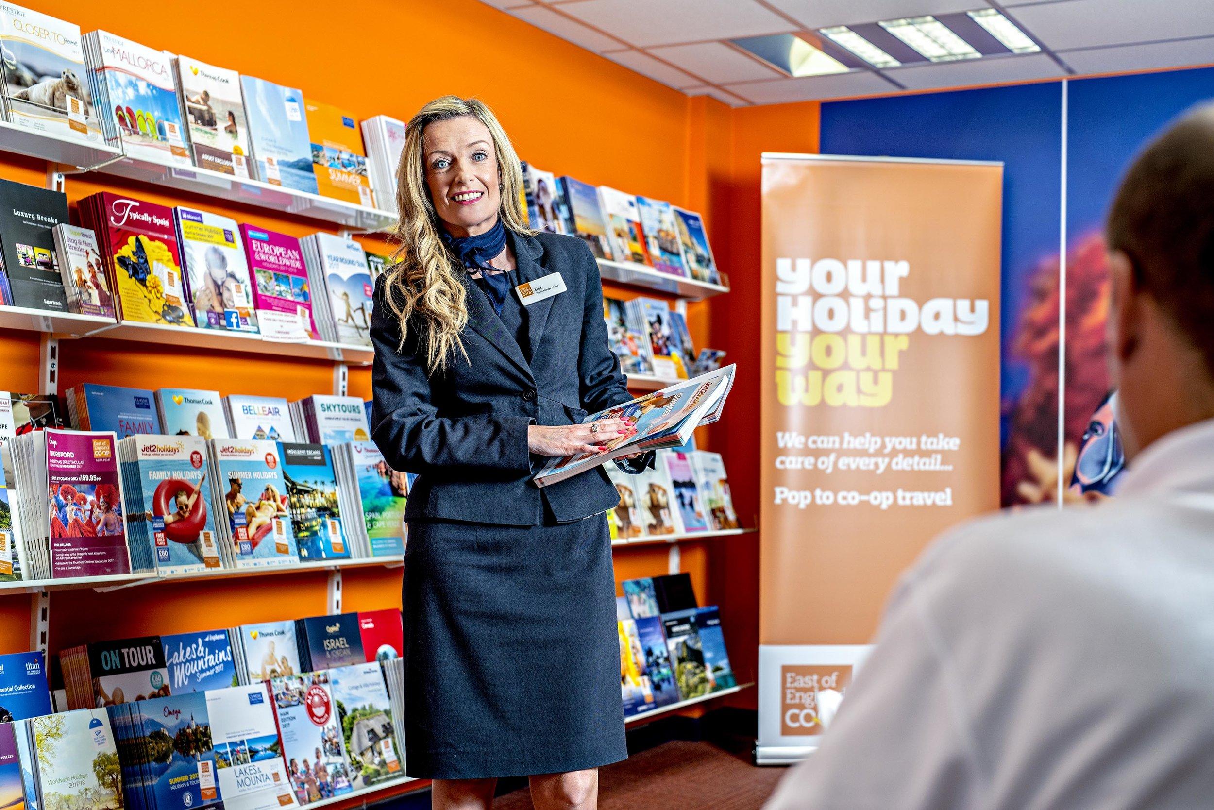 Lisa Lightly, Co-Op Travel consultant, Tiptree, Essex
