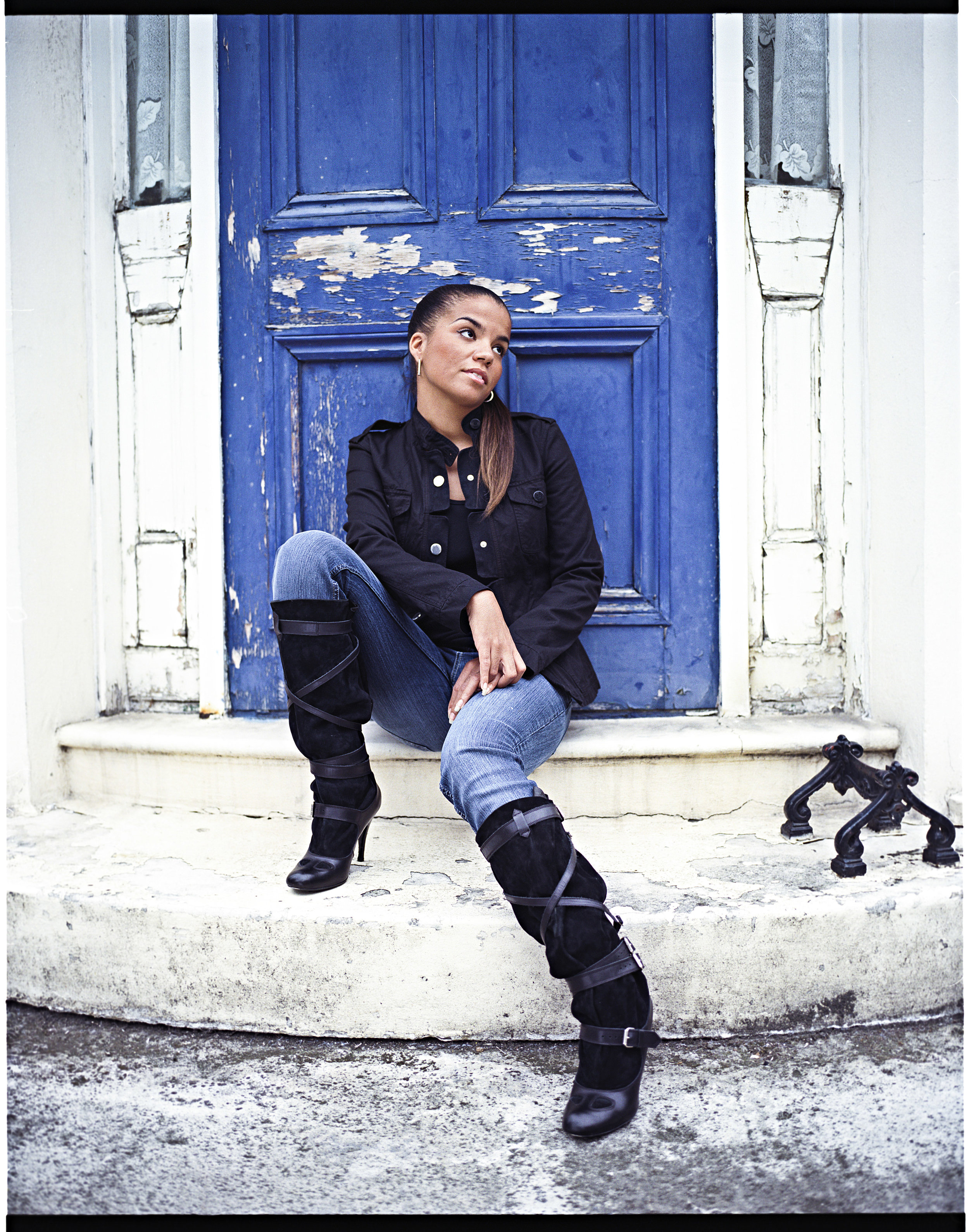 Ms Dynamite - Photographed for the Black Britannia Photo Exhibition