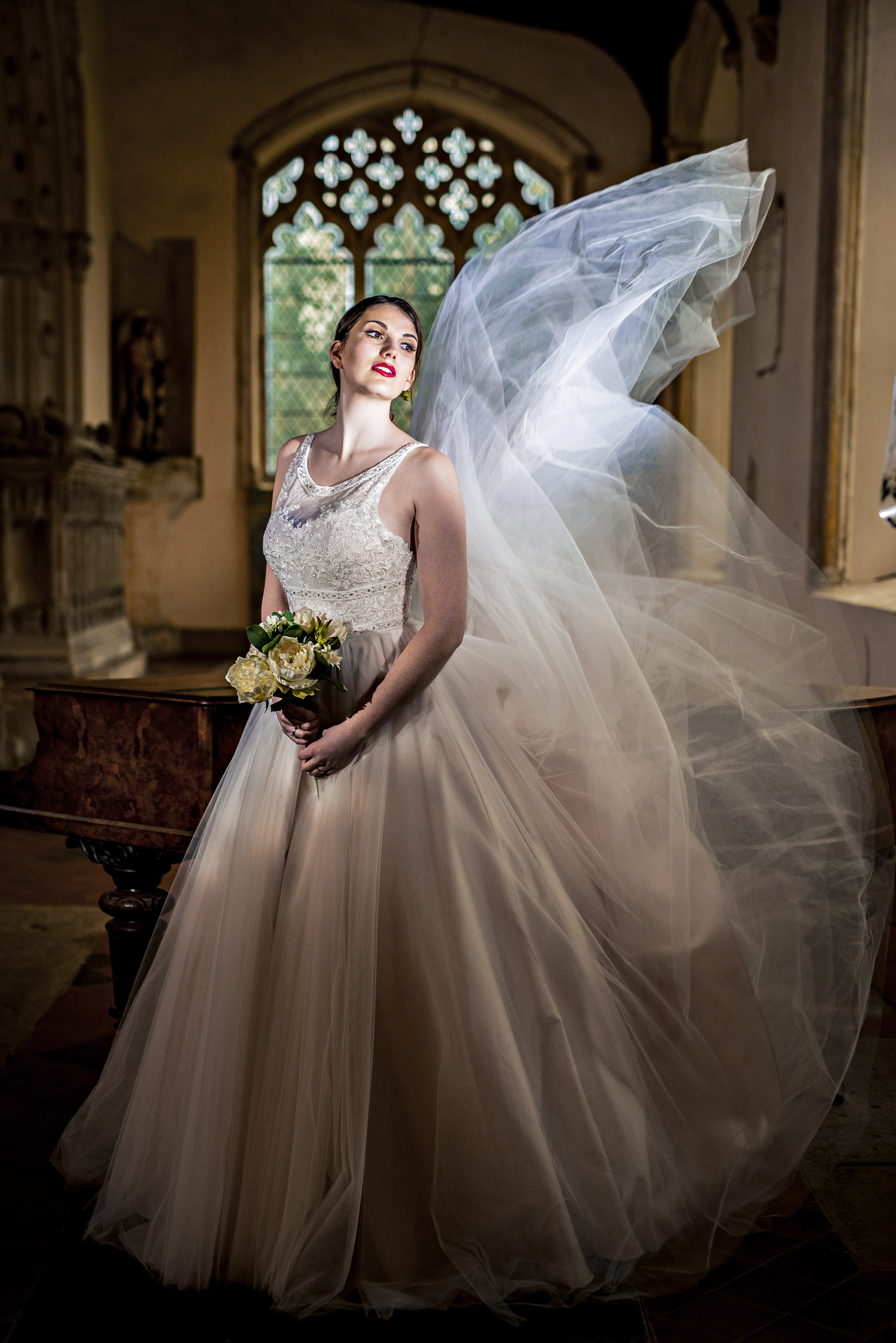 Location Bridal Fashion Photo Shoot - John Ferguson