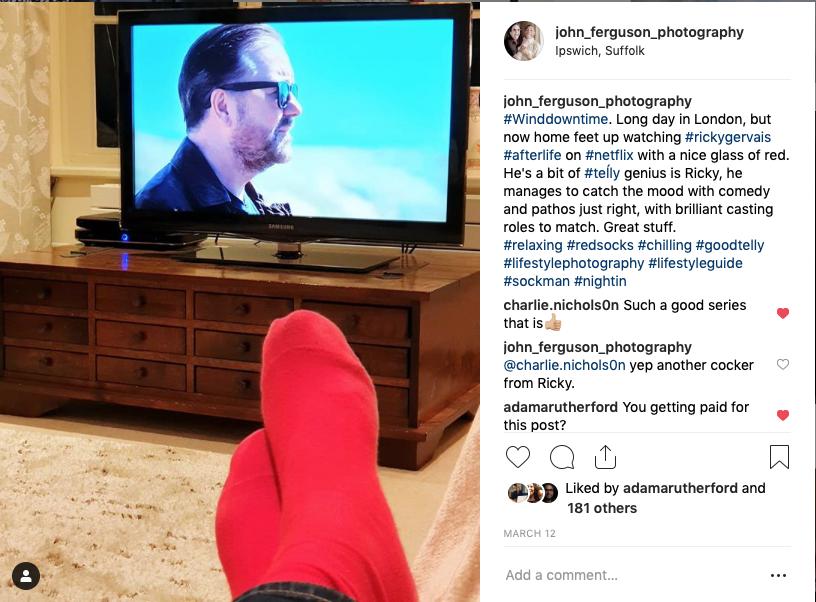 John Ferguson's Instagram Post
