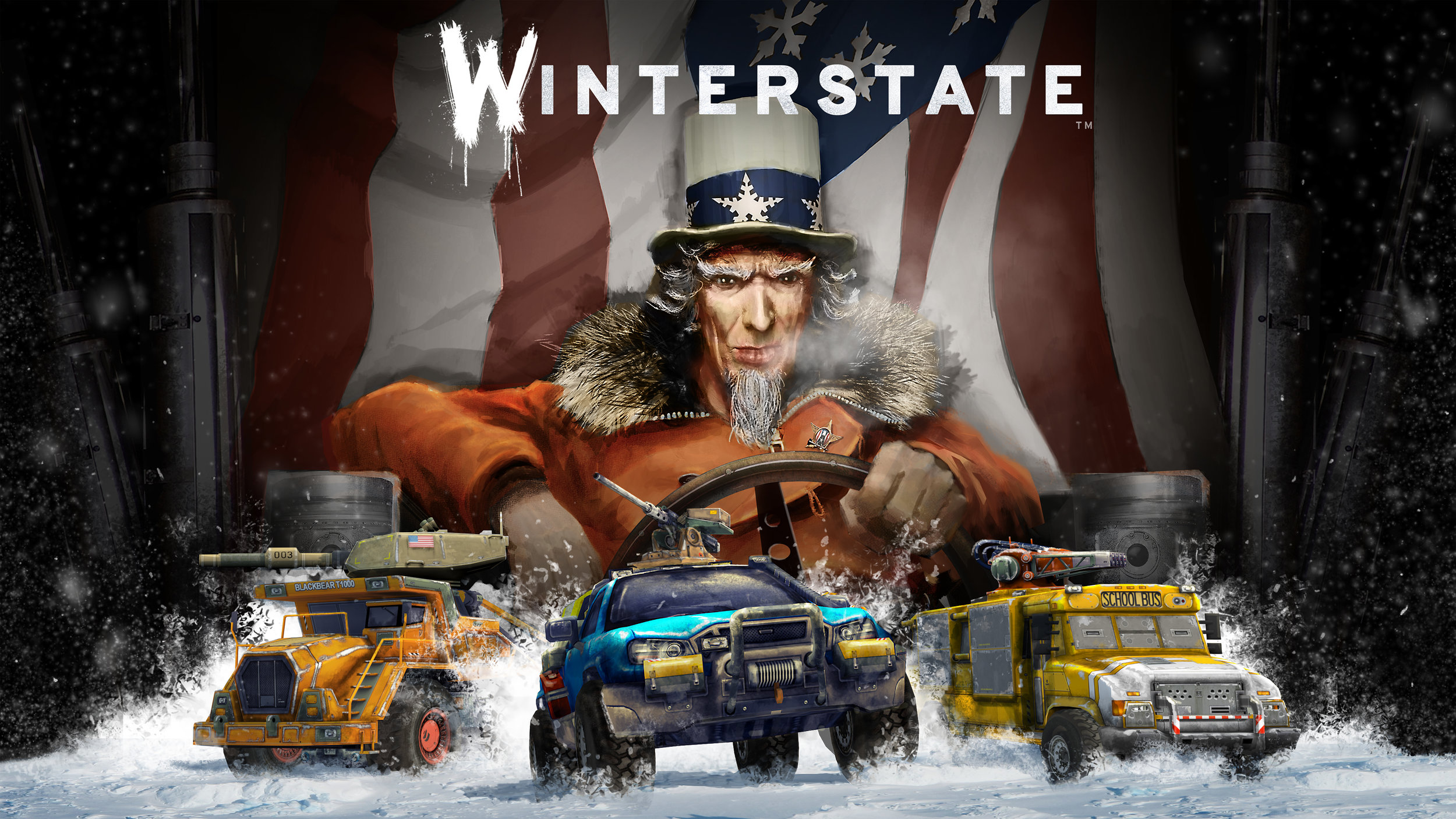 Winterstate - PlayRaven2014 - 2016Winterstate is a single-player tactical combat trading game. In which you are tasked with scrapping resources in the frozen post-apocalypse.I worked as a game designer in the project.