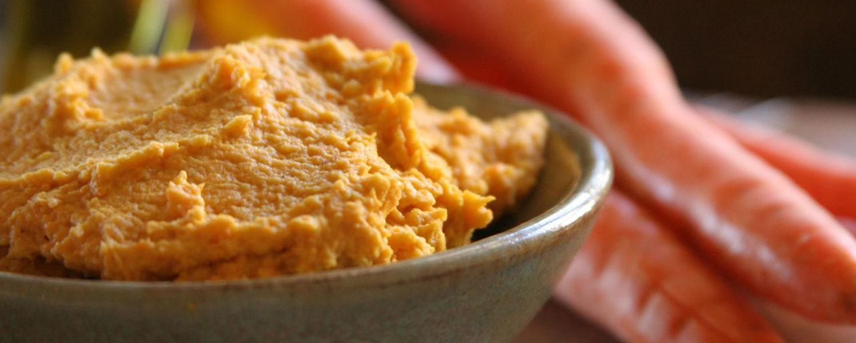 Cilantro Carrot Hummus