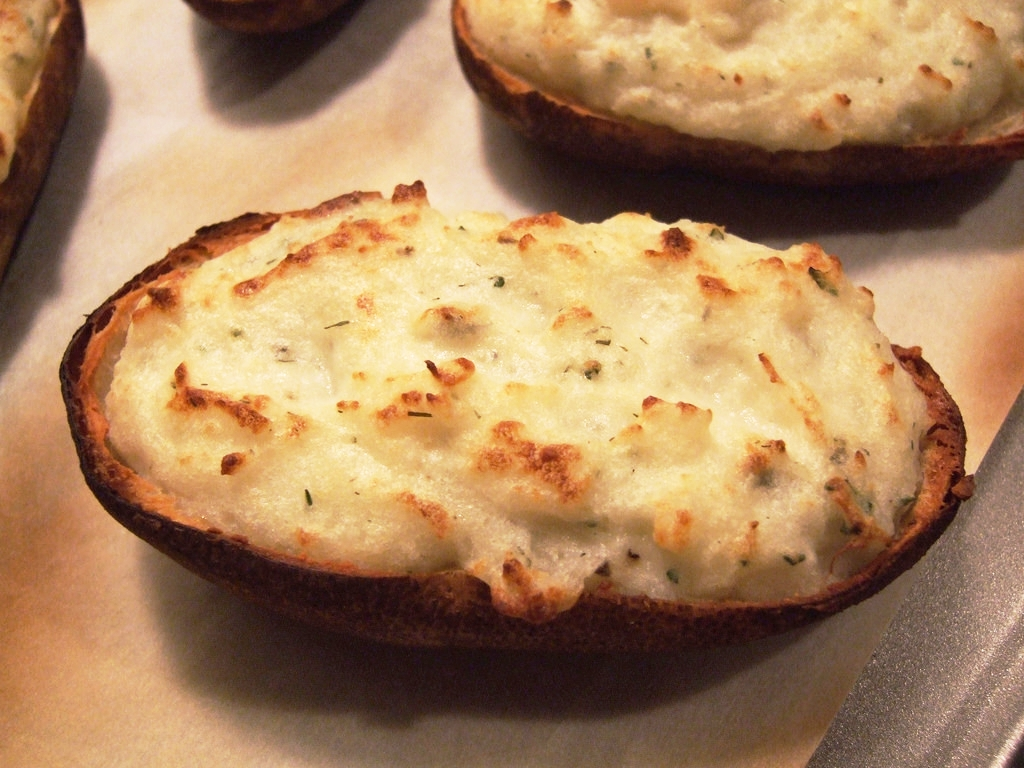 BBQ Twice-Baked Potatoes