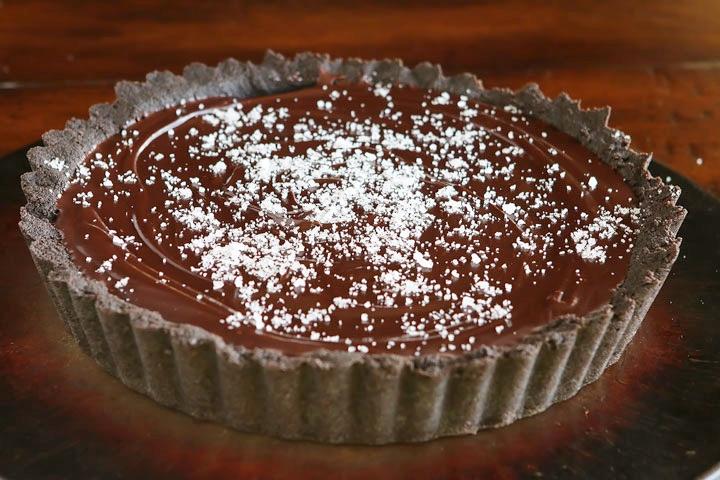Crimson Tide Chocolate Pie