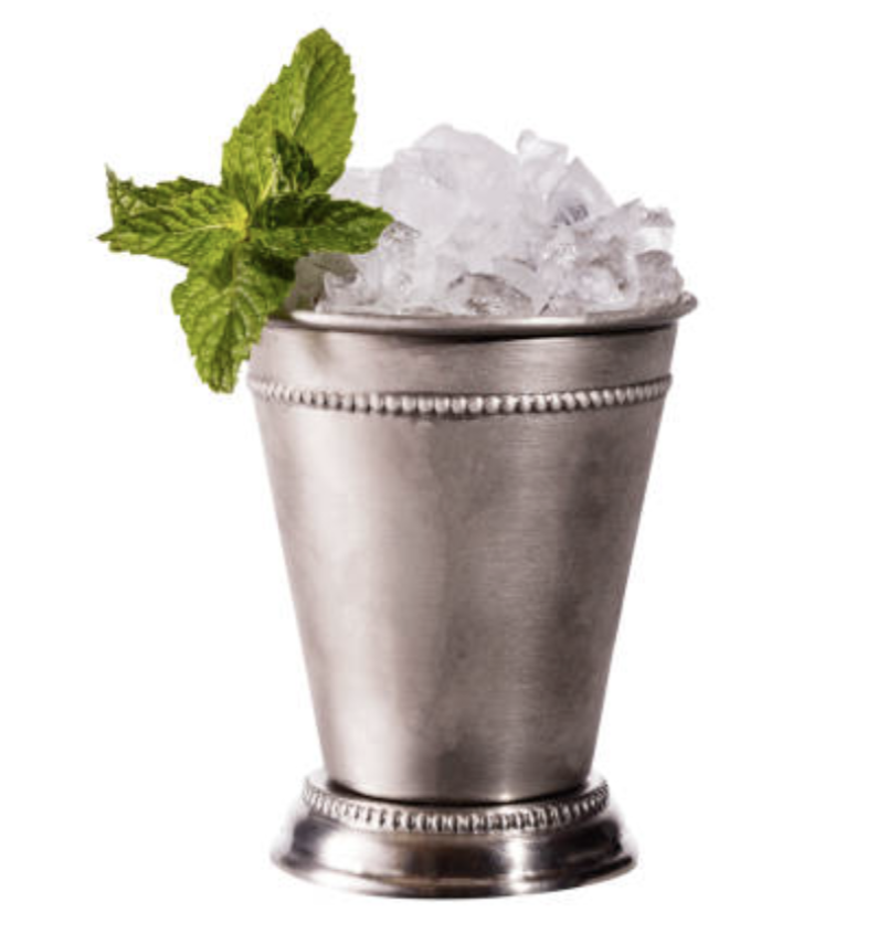 The Mint Julep - A staple at the Derby since 1938, Churchill Downs serves up on average around 120,000 mint juleps over the entire two-day Kentucky Derby event. And if you're willing to spend a pretty penny, to the tune of $1,000, they'll serve it it to you in a really swanky souvenir cup made of sterling silver, which includes an engraved horse and rider with a gold-plated rose garland and gold-plated straw. (On the plus side, you can walk away feeling good that a portion of those proceeds go towards retired race horses).