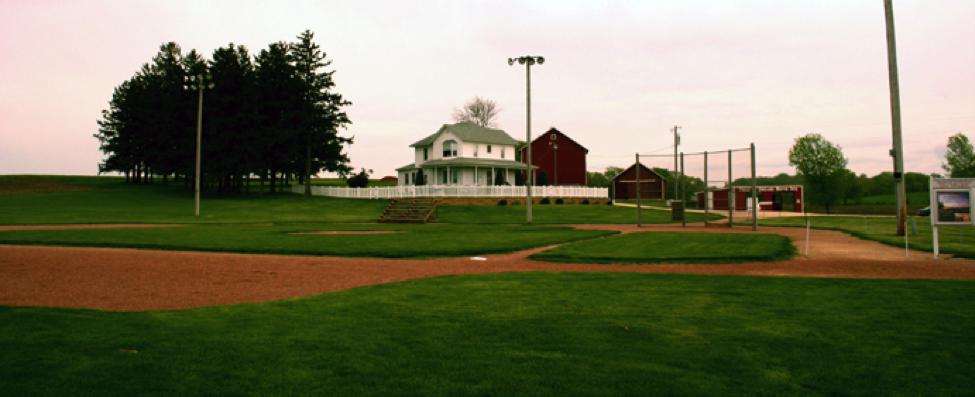 Field of Dreams  site in Dyersville, Iowa. Shot by JoeyBLS.