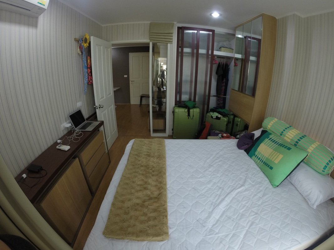 Bangkok apartment bedroom