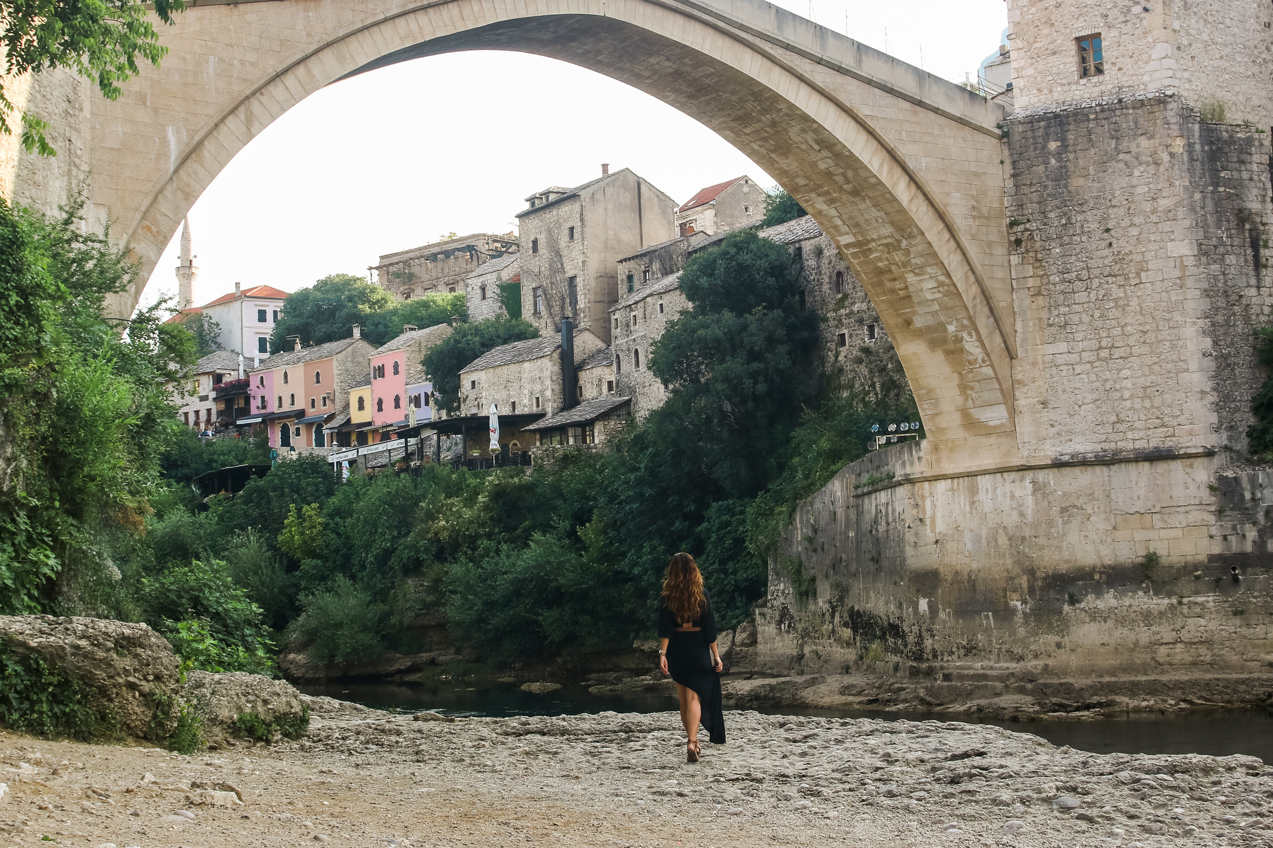 Stari Most, Ground Level