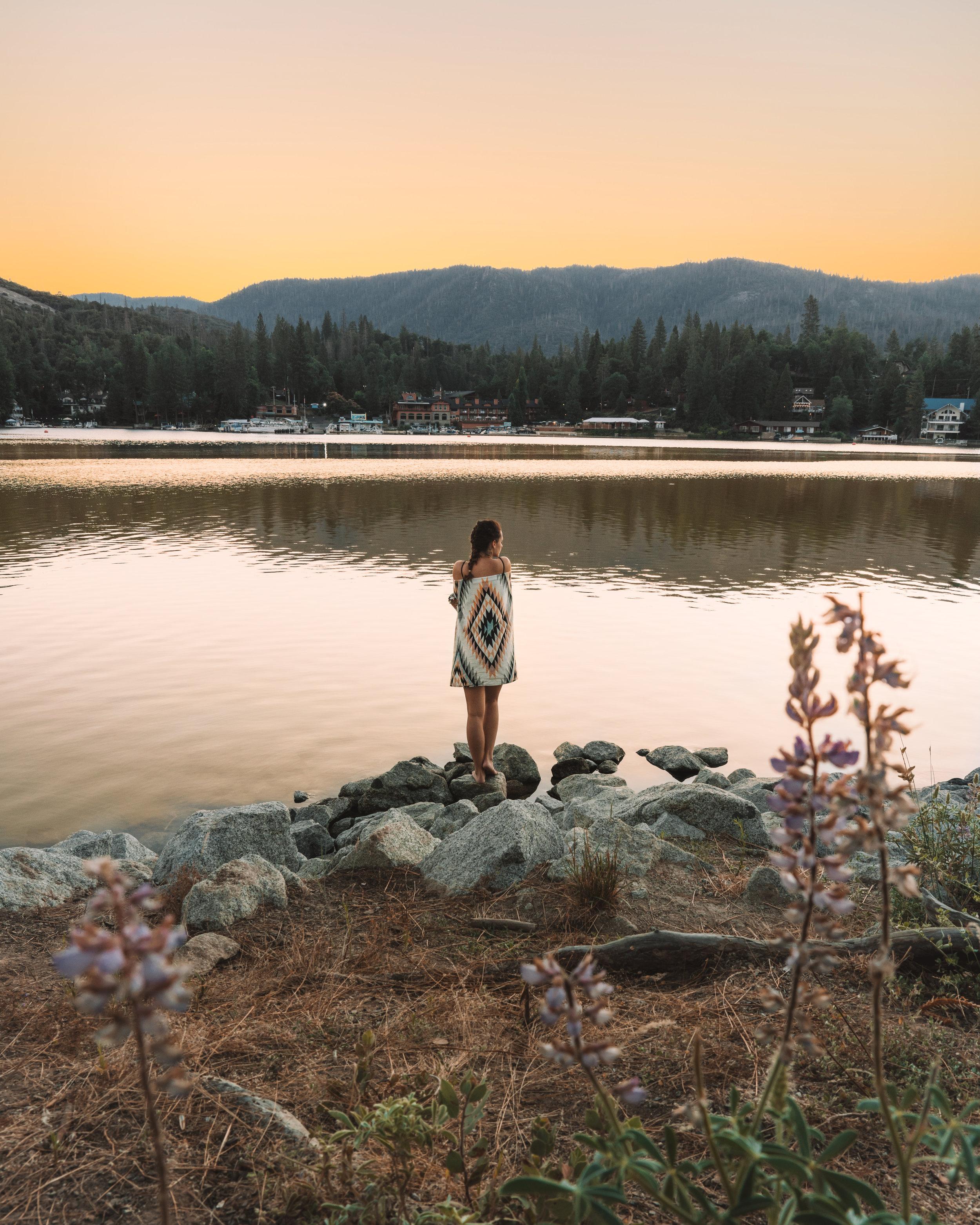 Sunrise on Bass Lake @zander.buteux