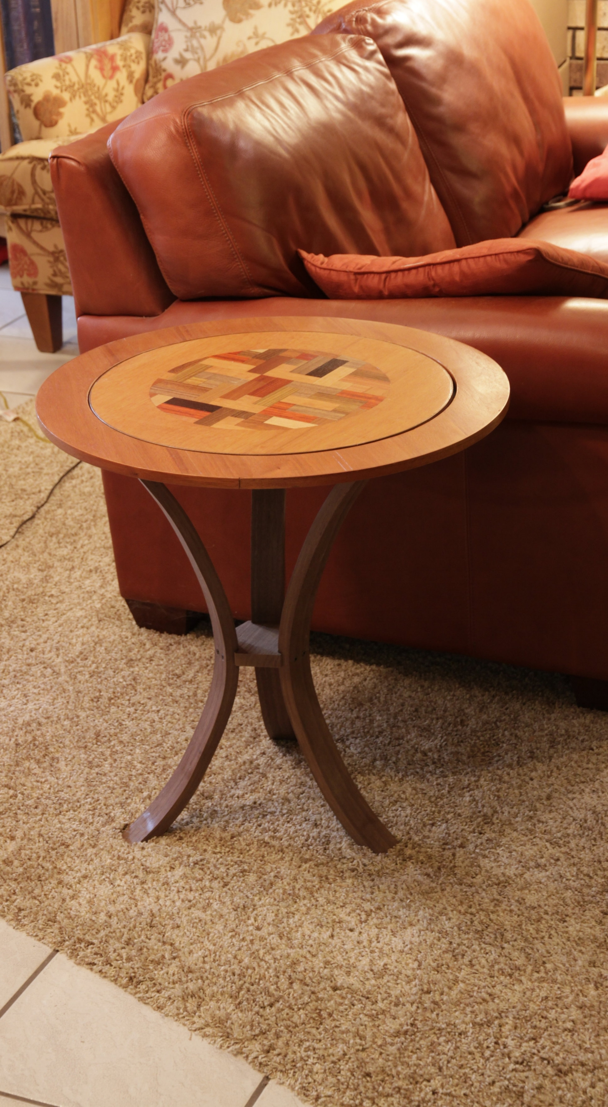 See how an 18 inch Spin-N-Serve can be combined with an expansion ring to make a table! -