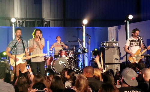 Magic at Pandora event. Photo by LivebyMusic