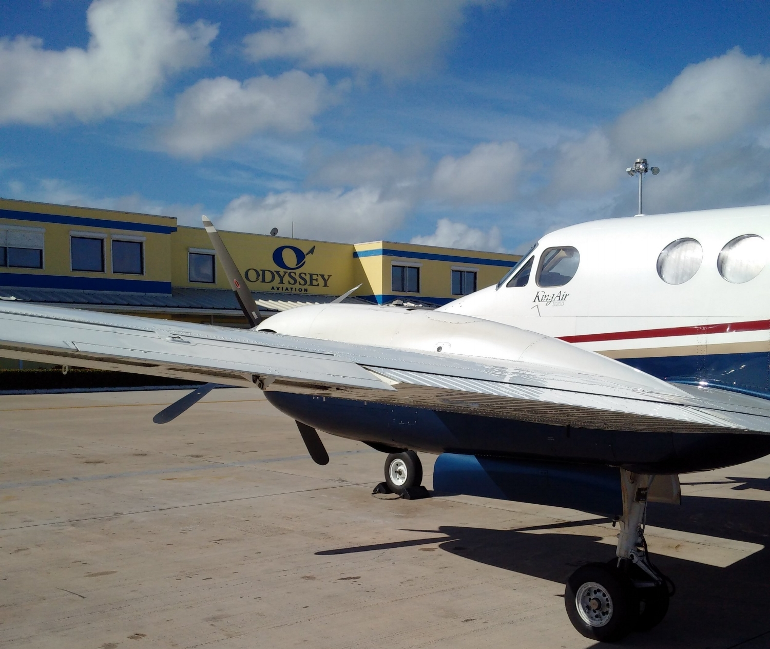 """Odyssey Aviation, an FBO in Nassau, Bahamas. FBOs handle an array of private aircraft, catering to a vast segment of the industry known as """"general aviation."""""""