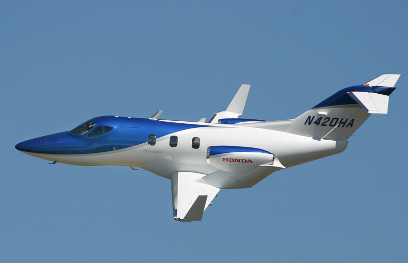 The HondaJet is the newest entrant in the Entry Level or Very Light Jet category