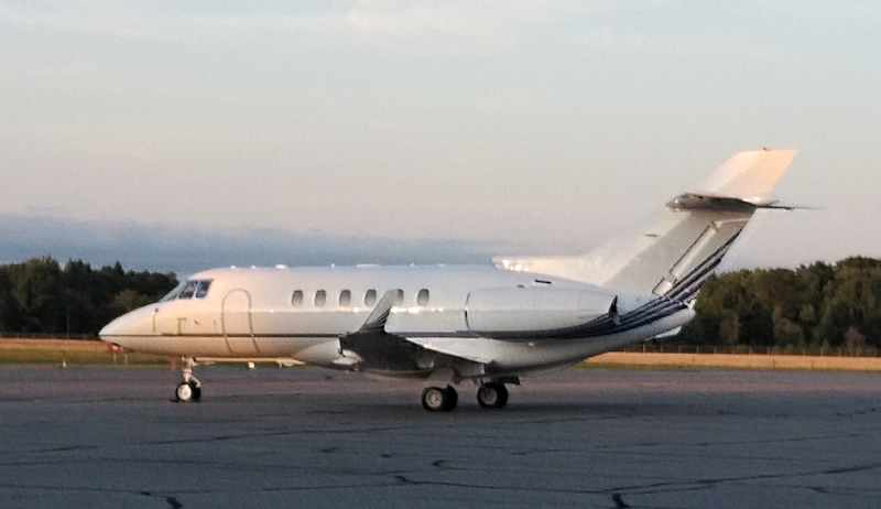 Beechcraft Hawker 850XP midsize jet. The Hawker 800 series were built in large numbers are continue to deliver great value for the money.