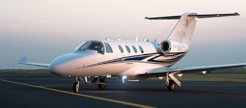 The Citation M2 is currently the line's entry level jet and has been flying since 2013.
