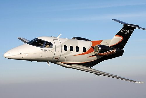 The Embraer Phenom 100.