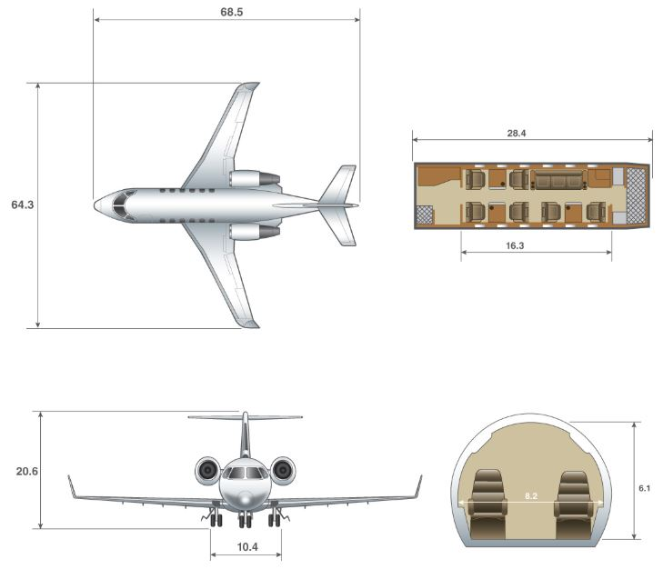 Challenger 600 dimensions.JPG