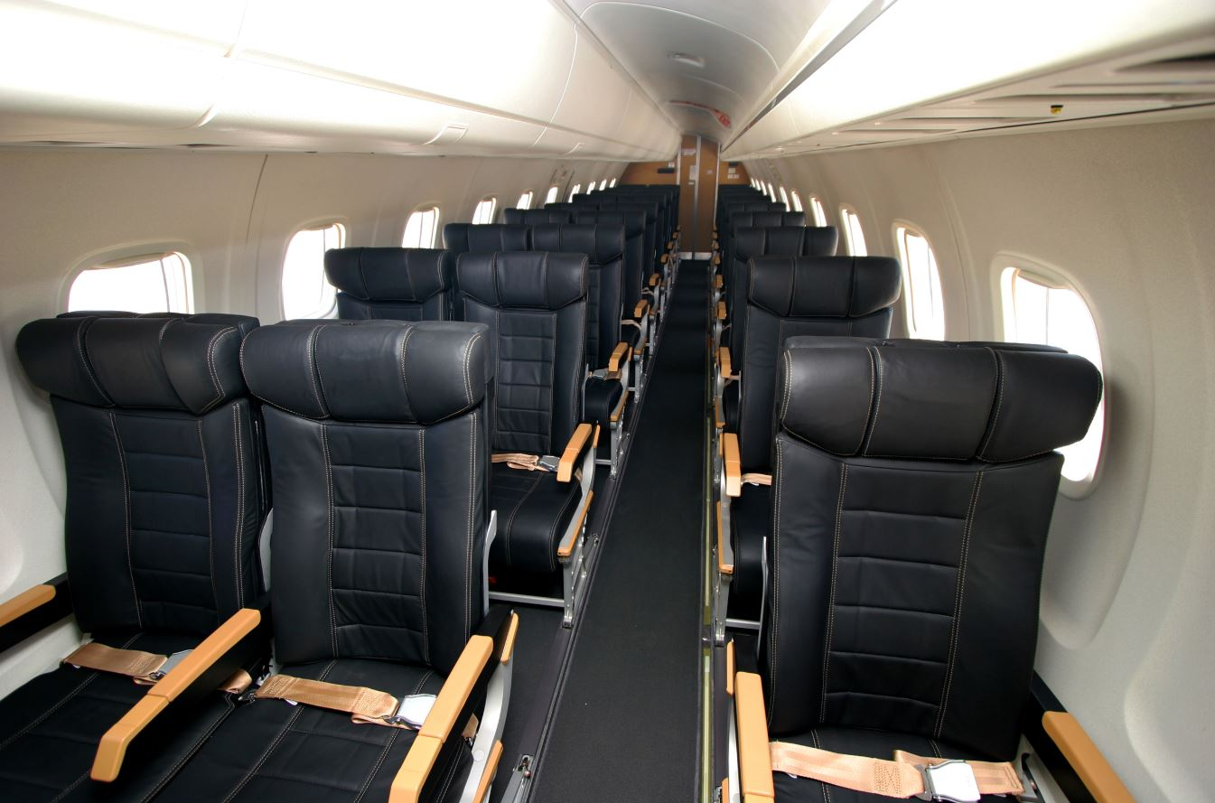 Need something more practical to move a large group? A commercial airliner like this Embraer ERJ-145 may be the solution.