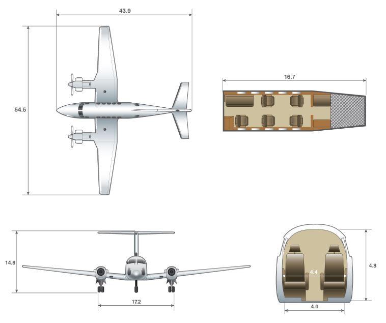King Air 200 dimensions.JPG