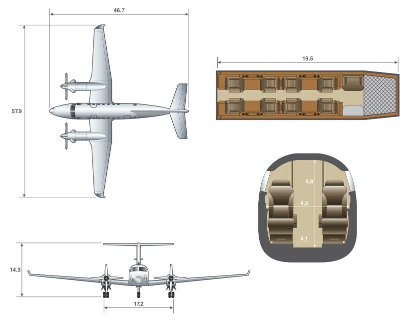 King Air 300 dimensions.JPG
