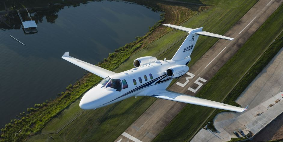 A great performer off of short and narrow runways.  Cessna photo.
