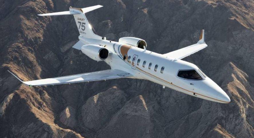 Bombardier Learjet 75 Liberty.  Bombardier photo.