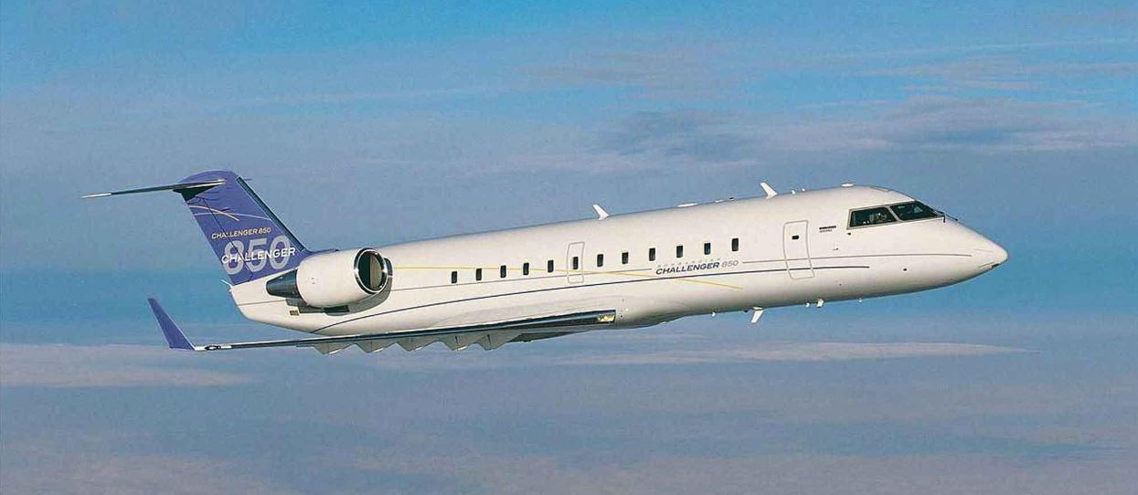 The Bombardier Challenger 850