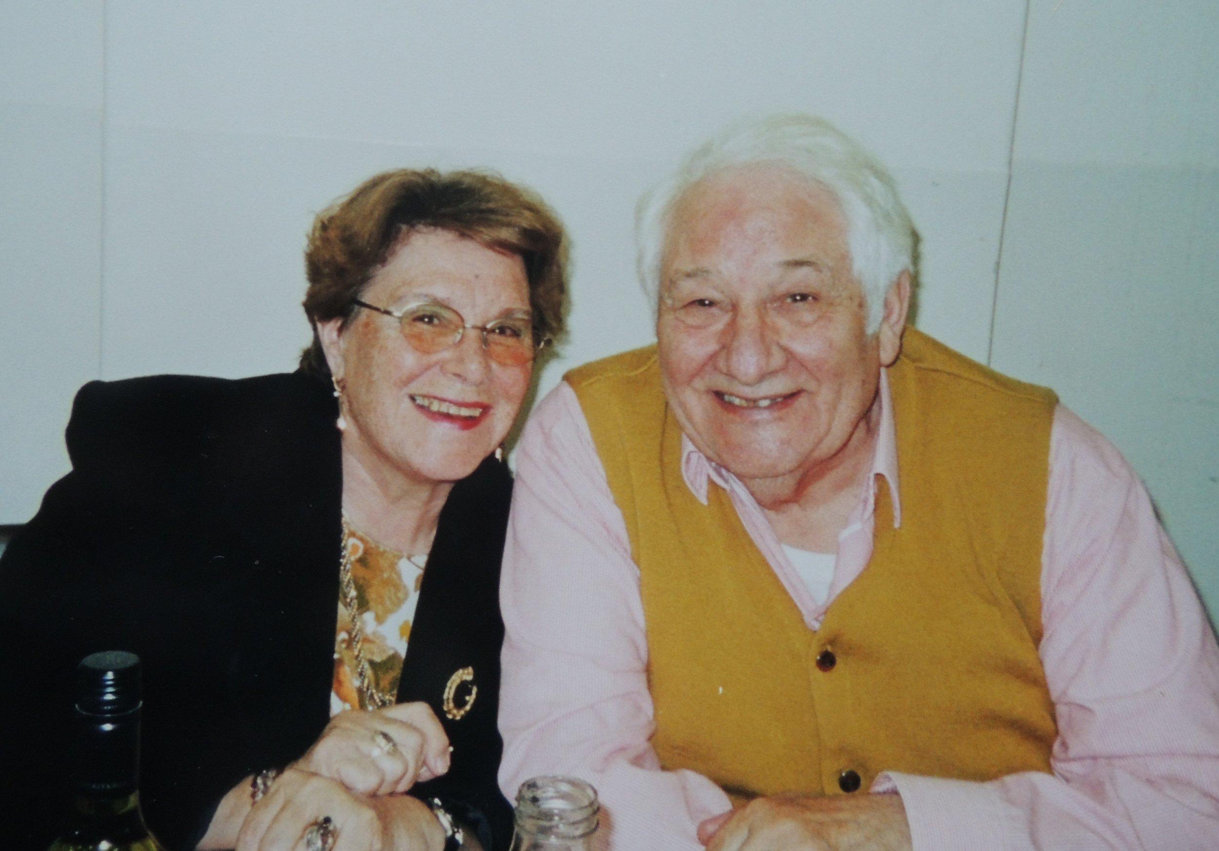 Juanita and her husband Franco