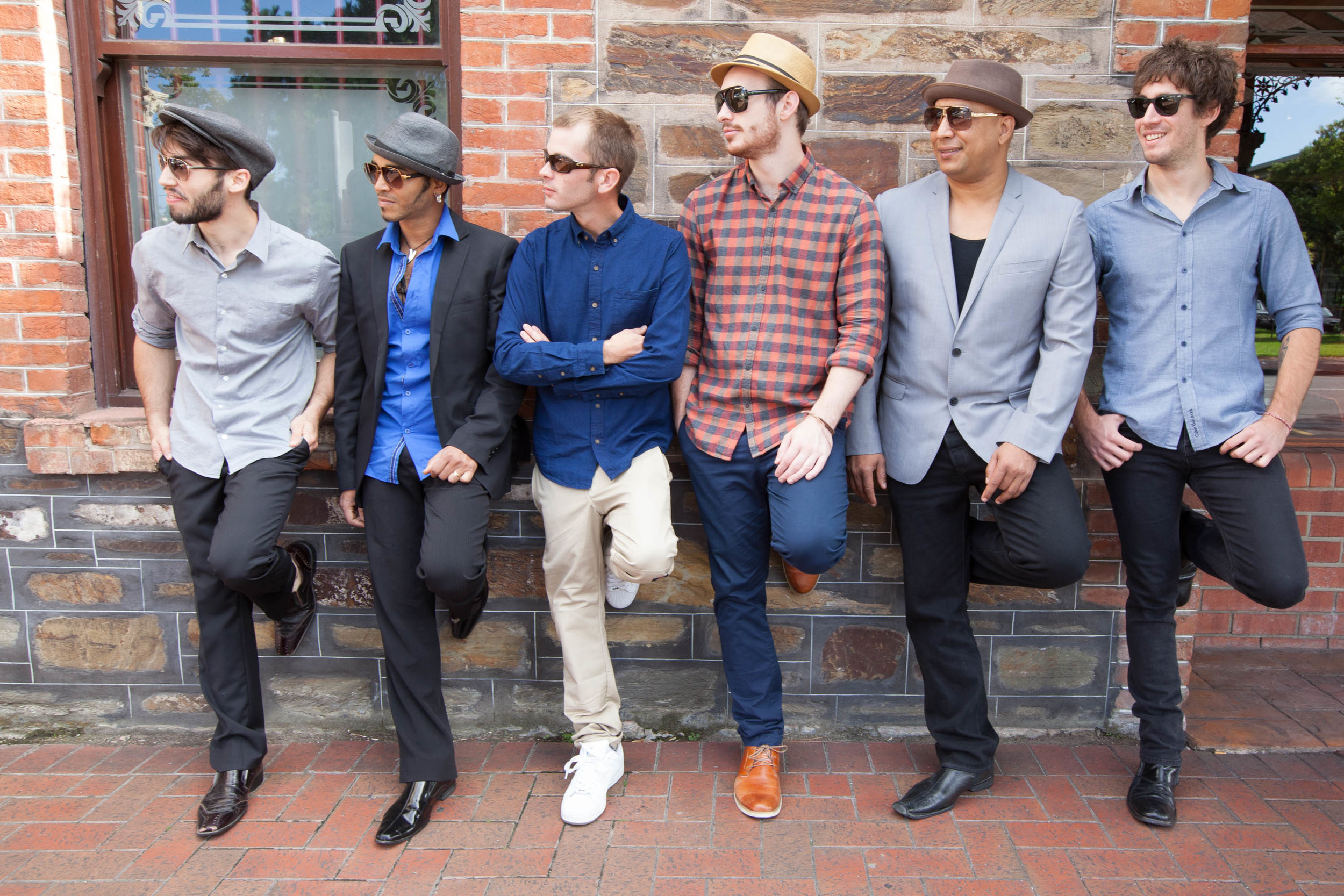 Soul Macumbia band looking good! Photo courtesy of Philip Johns