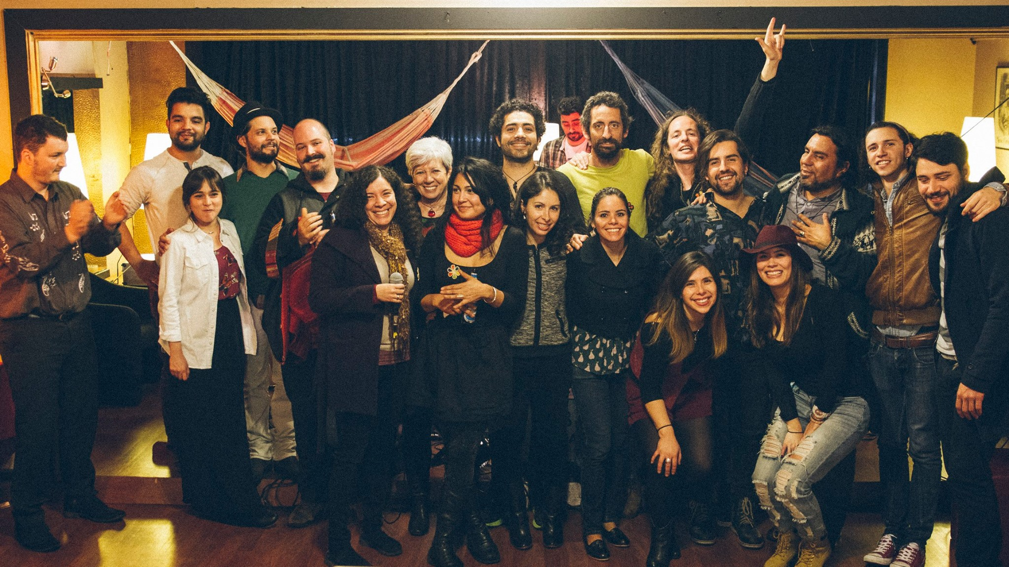 Casa Cultura – Encuentro 2 A three-fold musical collaboration. Photo by Gabriela Gonzalez 2015