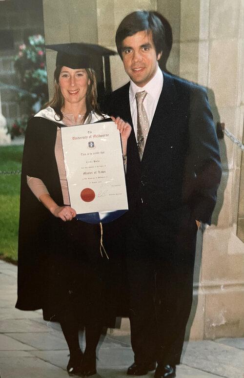 Carola and her husband