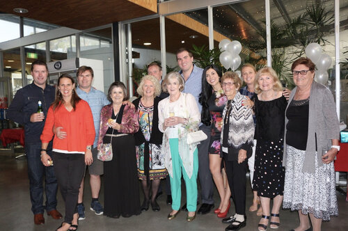 Yeimy and her Australian family at her engagement party, January 2018.