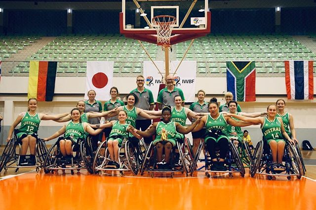 Bonnie has just been accompanying physiotherapist for the Australian Under 25's Wheelchair Basketball team where they placed with a Silver Medal behind the USA at the World Championships held in Thailand. #congratulations  #wheelchairbasketball