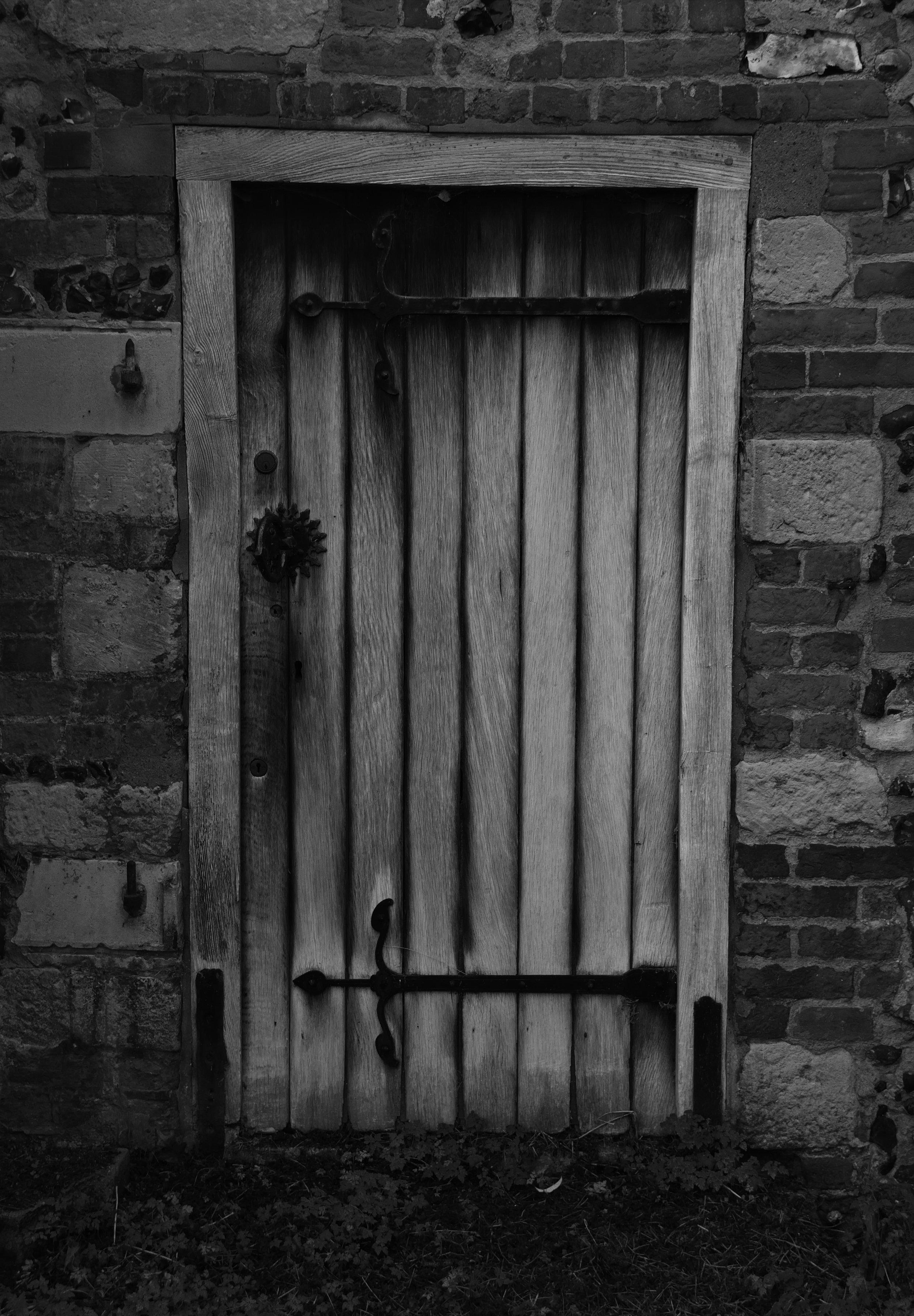 North transept door, west