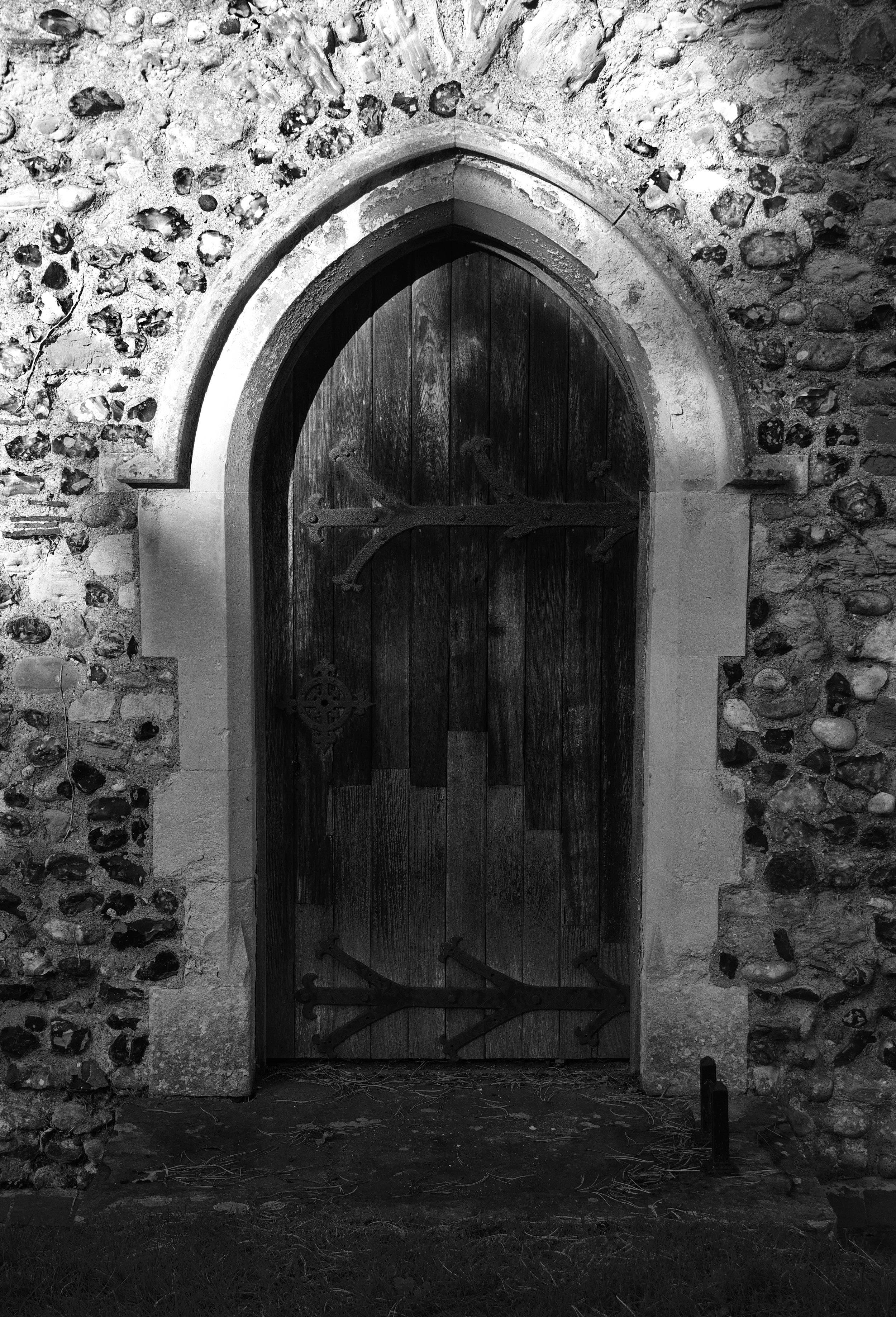 South door, naive aisle