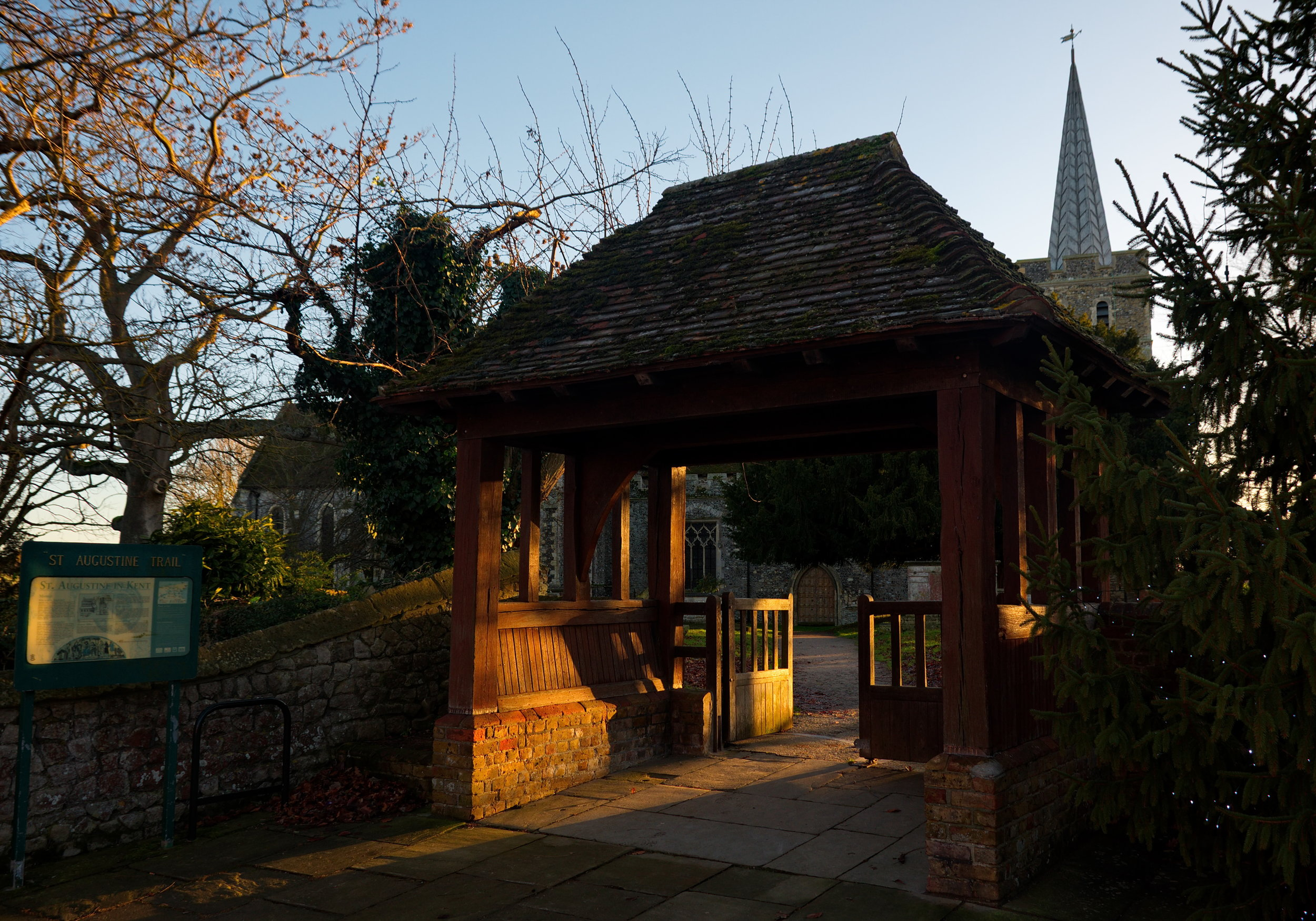 Lychgate, north